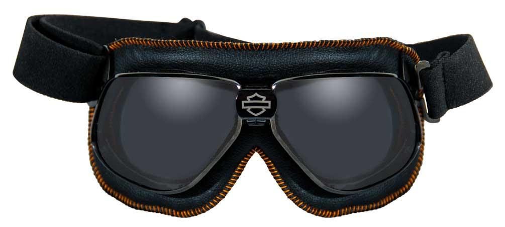 Harley-Davidson Rally High End Performance Goggles, Dark Metal Frames HGRAL01