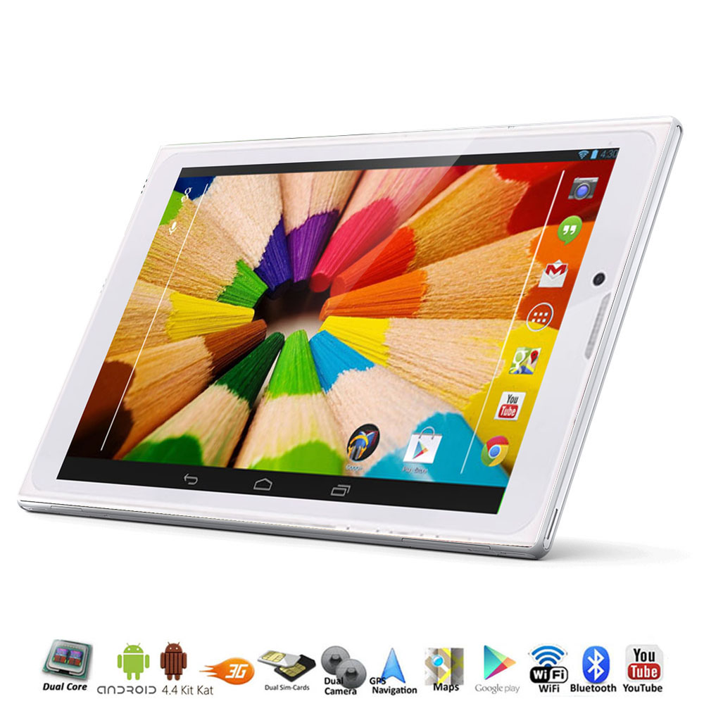 Details about 7.0-inch Android 4.4-KK 3G Smart Phone Tablet PC GSM ...