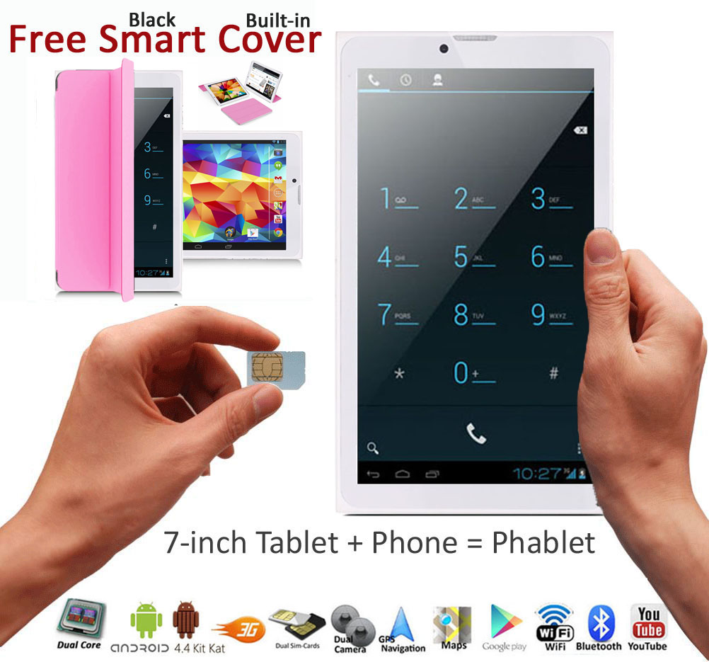 Unlocked-7-0-034-Android-4-0-Phablet-GSM-Dual-Sim-Tablet-Phone-w-FREE-Smart-Cover miniatuur 12