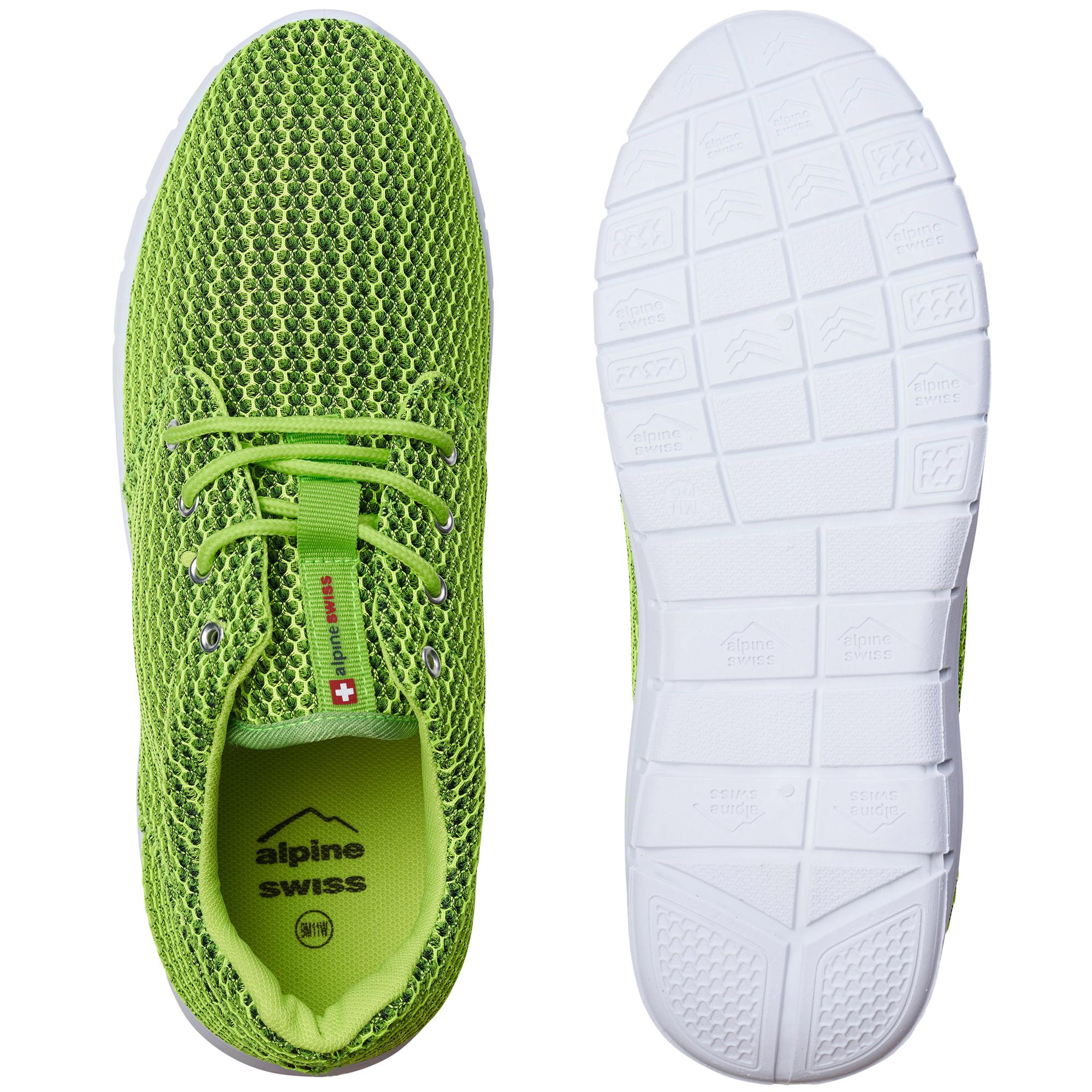 Alpine Swiss Kilian Mesh Sneakers Casual Shoes Mens & Womens Lightweight Trainer