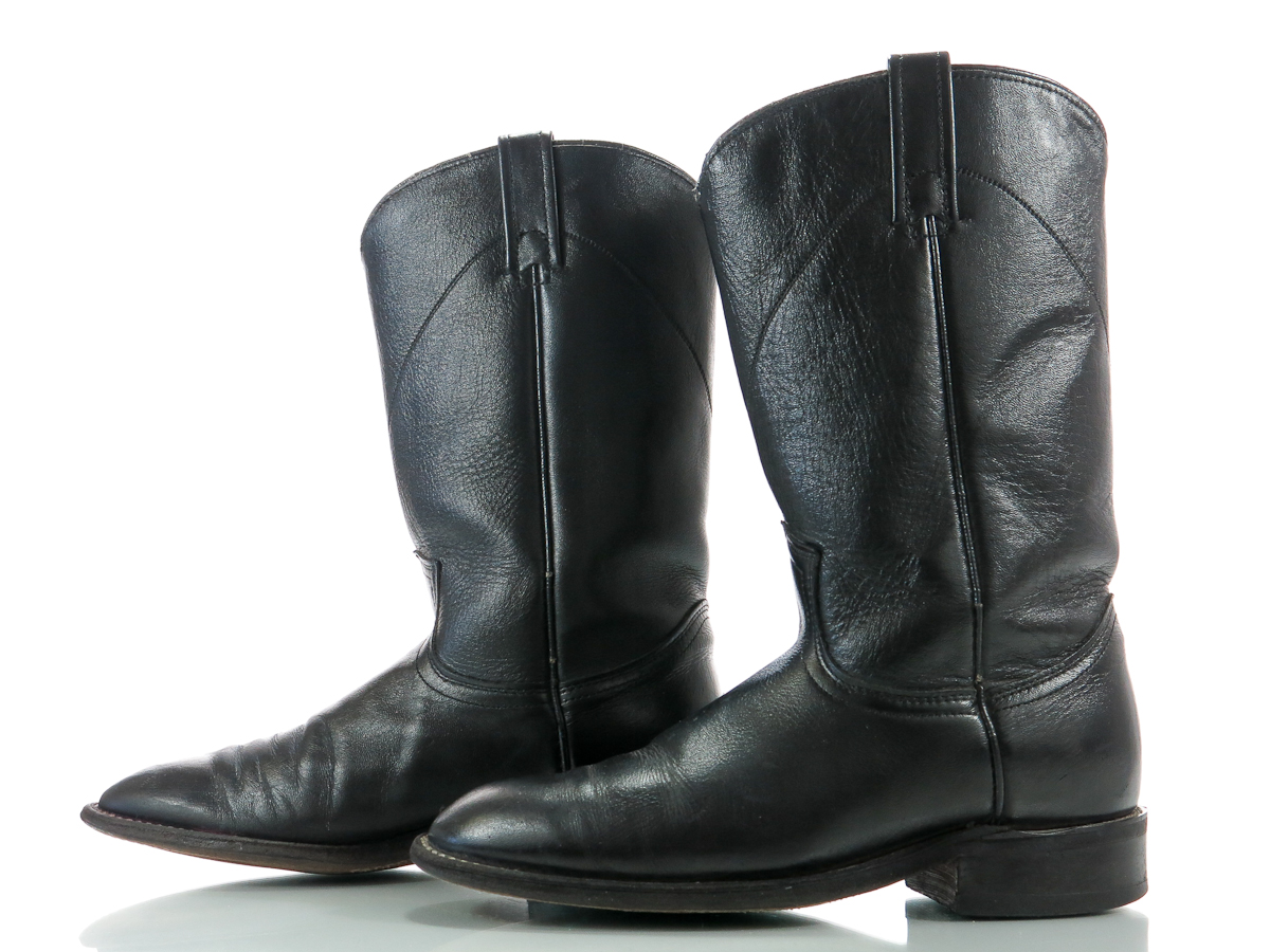 Simple Womens Dan Post Cecilia Black Boot  Outback Leather