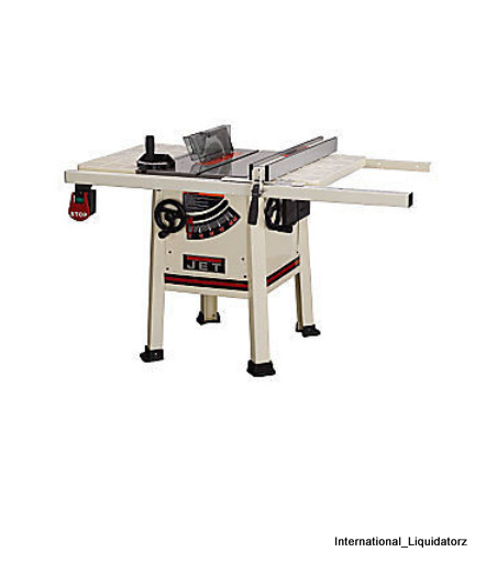 Jet 708490 jps 10ts 10 proshop table saw steel wing ebay for 10 jet table saw