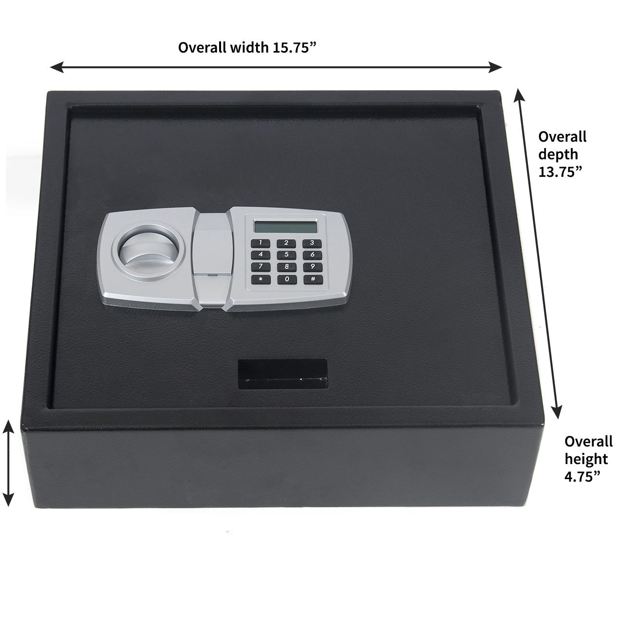 Digital Lcd Lock Electronic Keypad Top Opening Safe