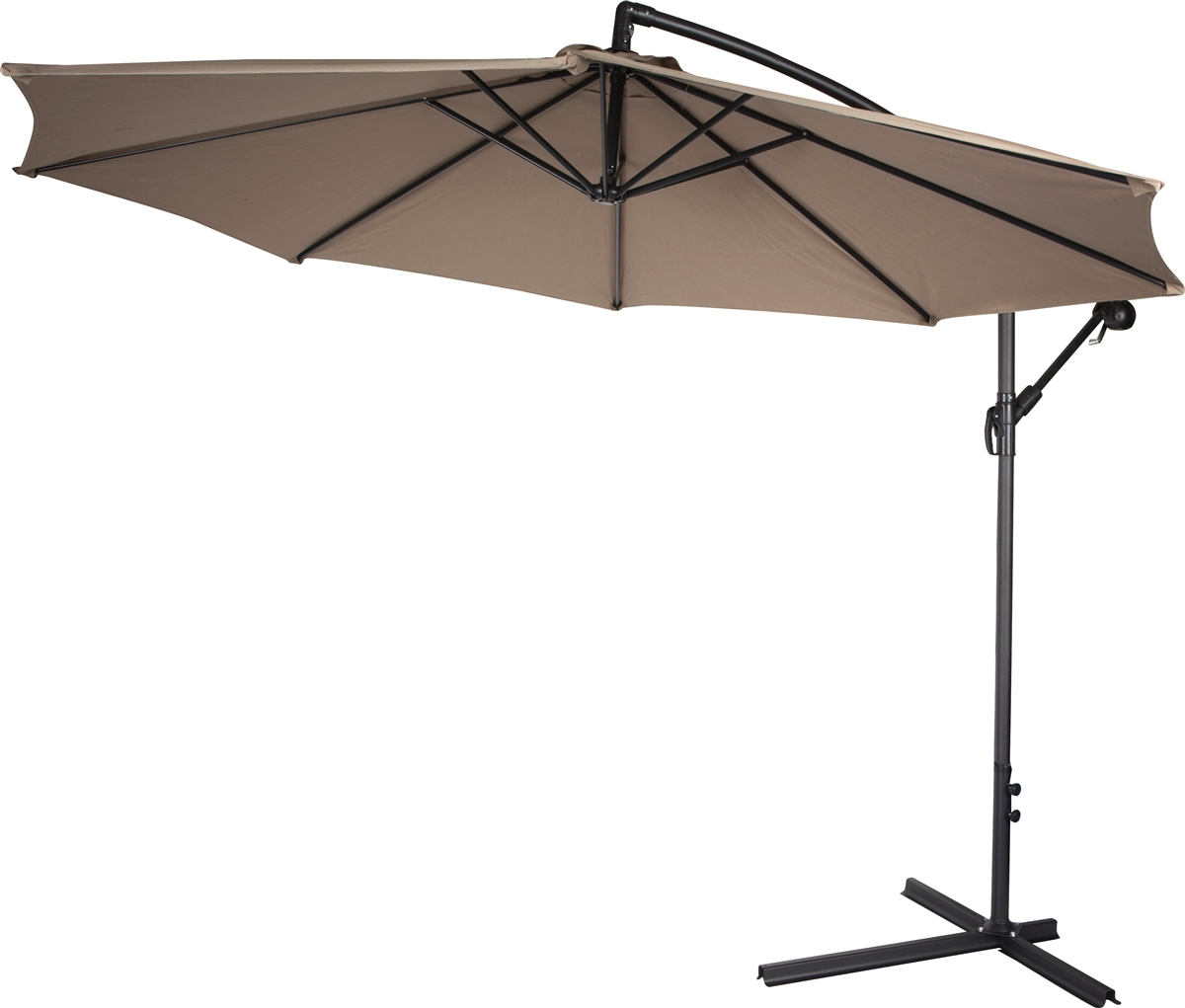 10ft Out Door Deck Patio Umbrella Off Set Tilt Cantilever