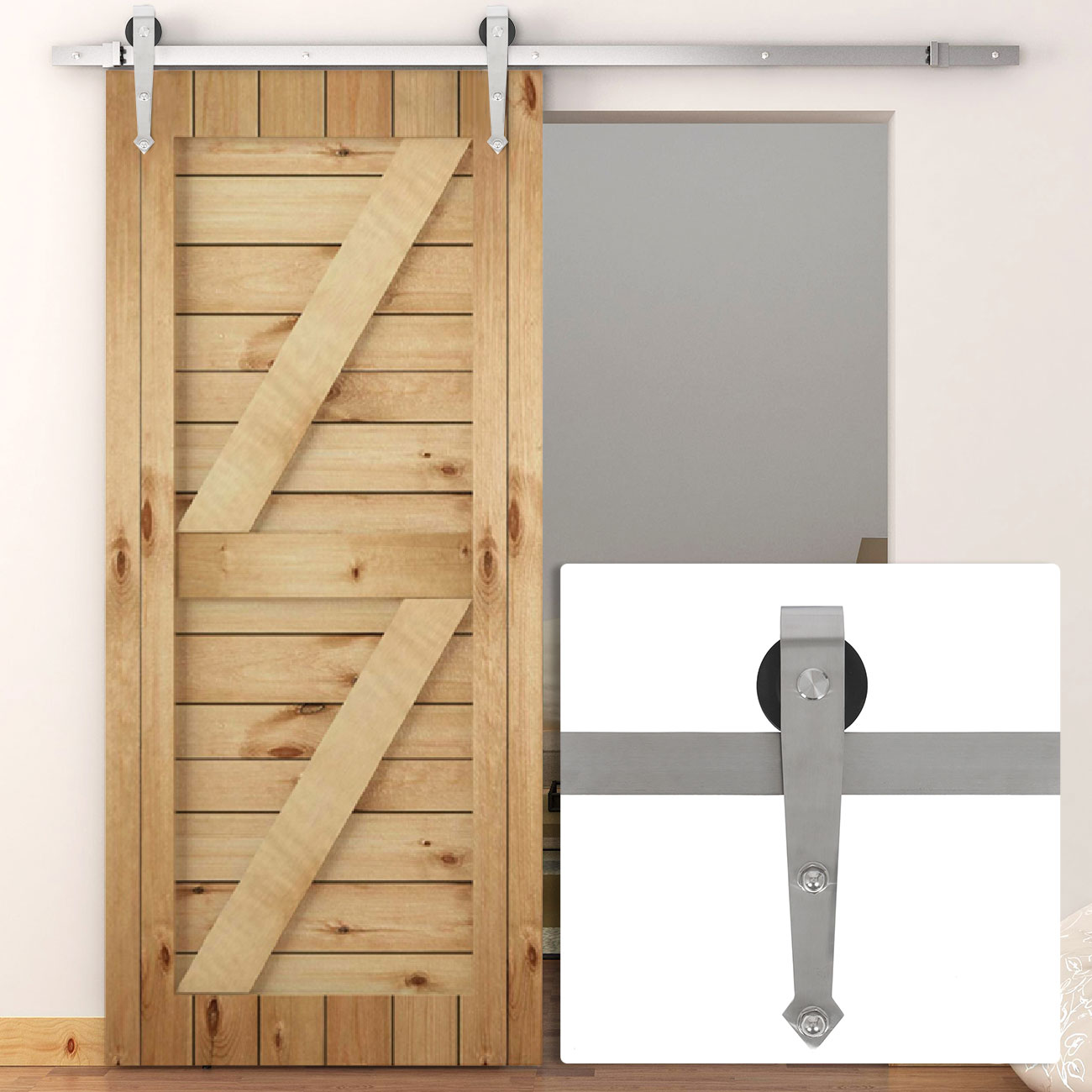 6 ft modern american steel sliding barn door hardware only for 6 ft sliding glass door