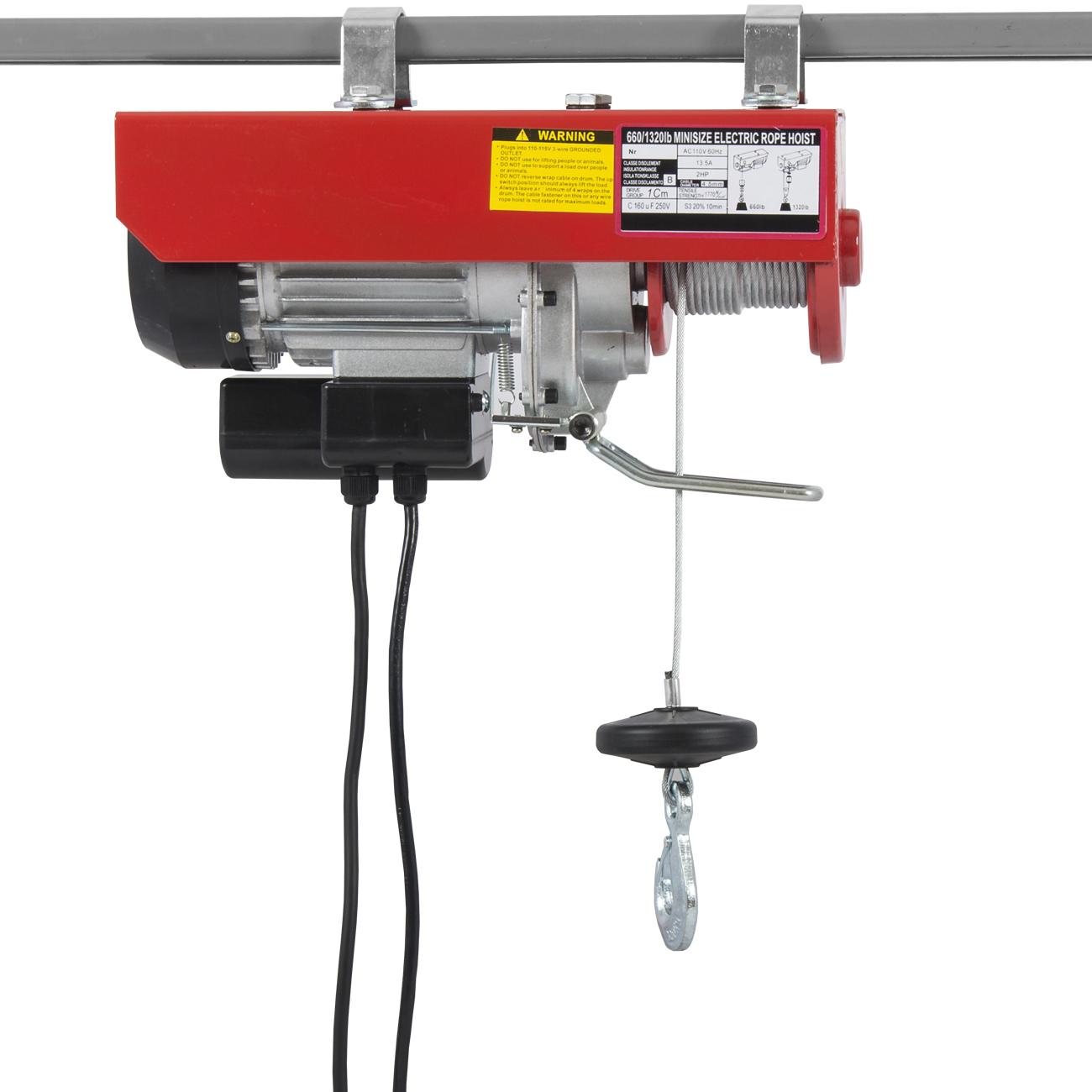 Overhead Crane Remote Control : Electric wire hoist remote control garage auto