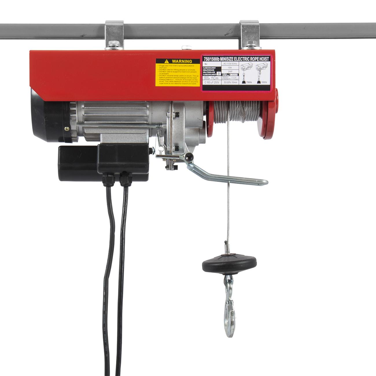 Pro Electric Motor Overhead Winch Hoist Crane Lift W