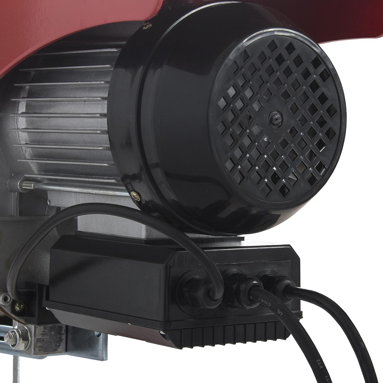 Electric Hoist Motor Overhead Winch Crane Lift Remote