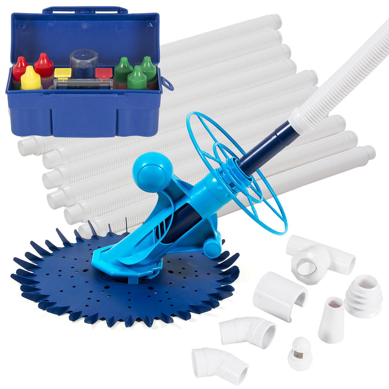 Automatic Inground Above Ground Swimming Pool Cleaner 5 Way Tester Starter Kit Ebay