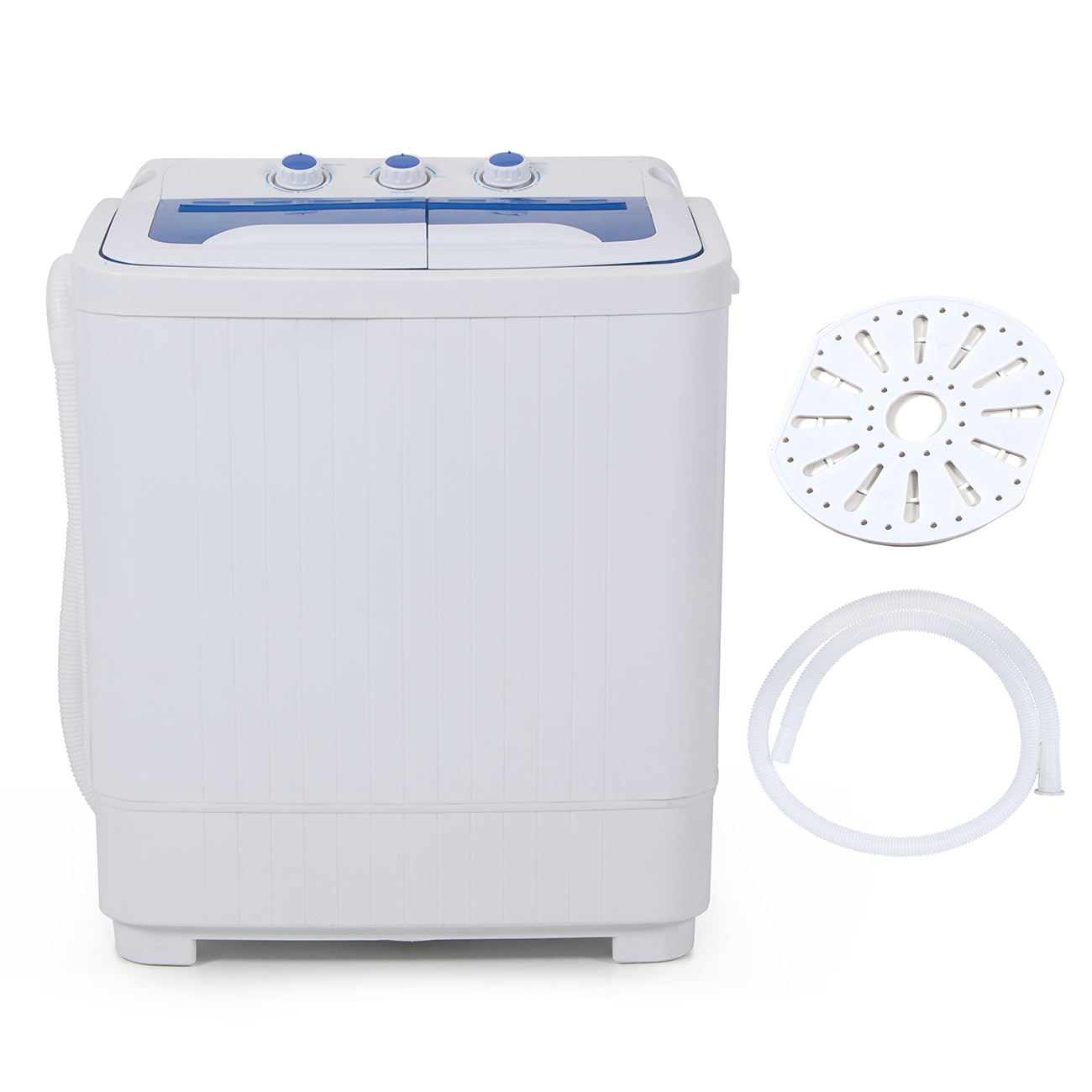 Portable mini rv dorms compact dual timer washing machines for Portable washer and dryer