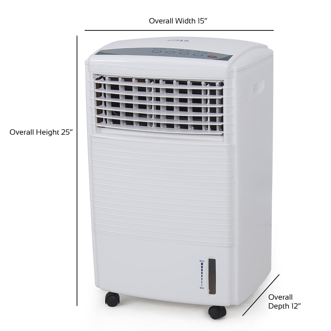 Portable Evaporation Air Cooler Humidifier Fan Conditioner Ionizer  #515B68