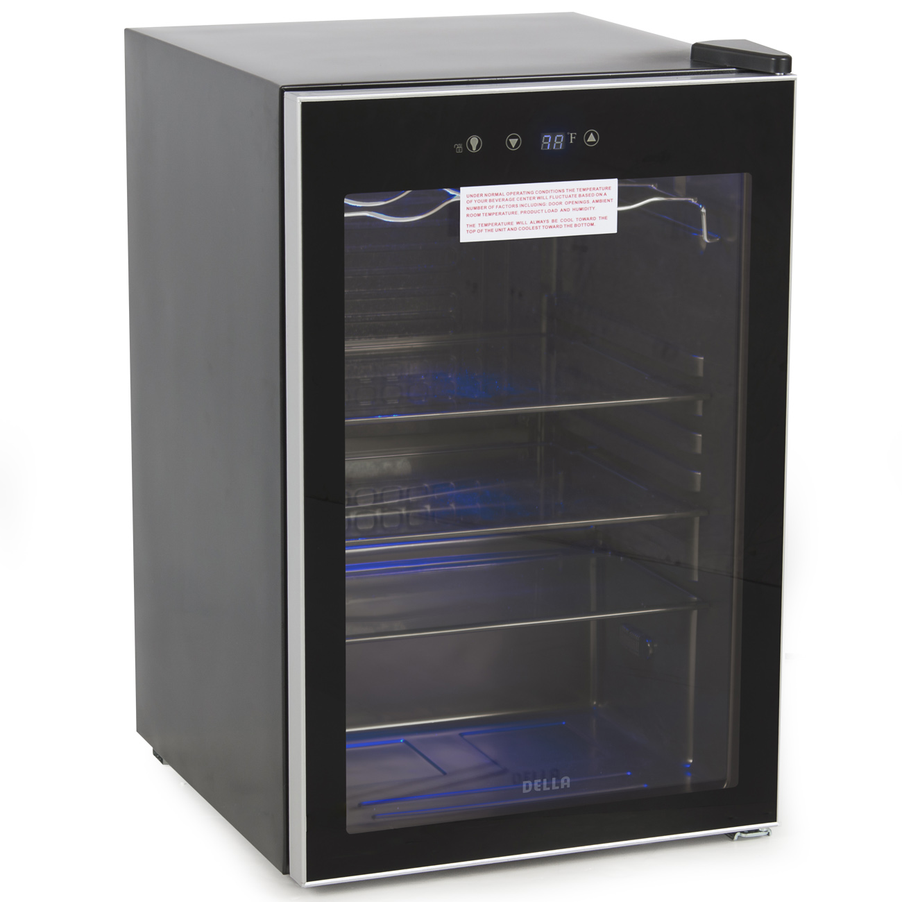 Digital Touch Led Beverage Wine Cooler Chiller Rack Mini