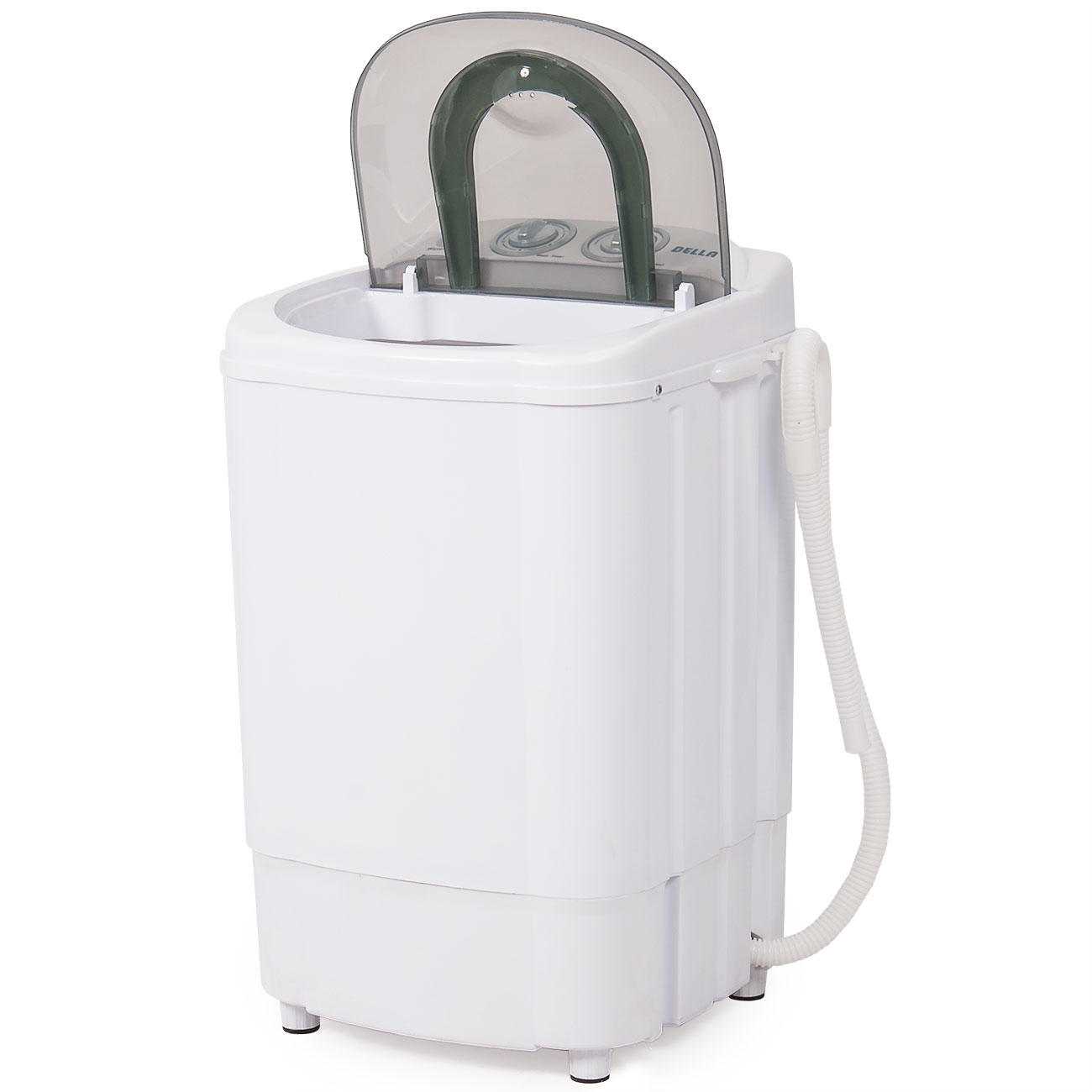 electric small mini portable compact washer washing machine 4kg washer white ebay. Black Bedroom Furniture Sets. Home Design Ideas
