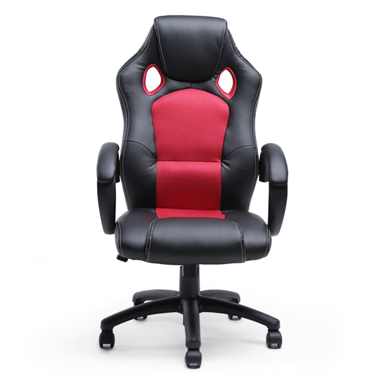 office chair ergonomic computer mesh pu leather desk seat
