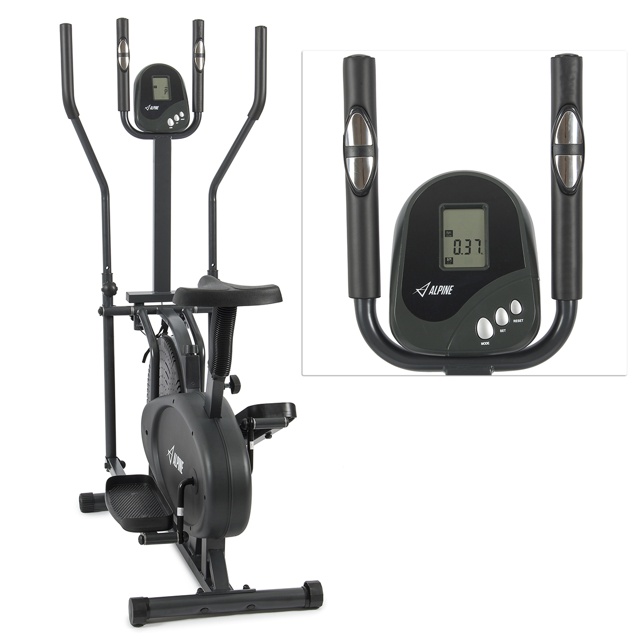 2 in 1 exercise machine