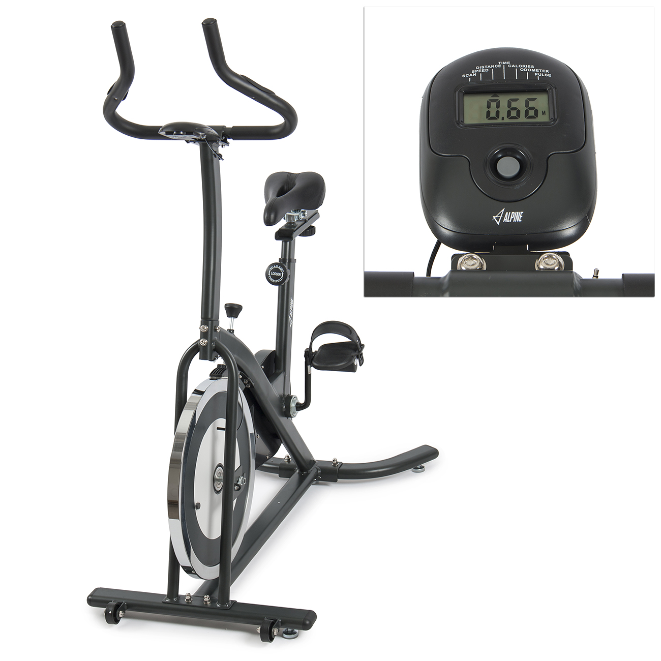 Bicycle cycling fitness bike exerciser cardio workout