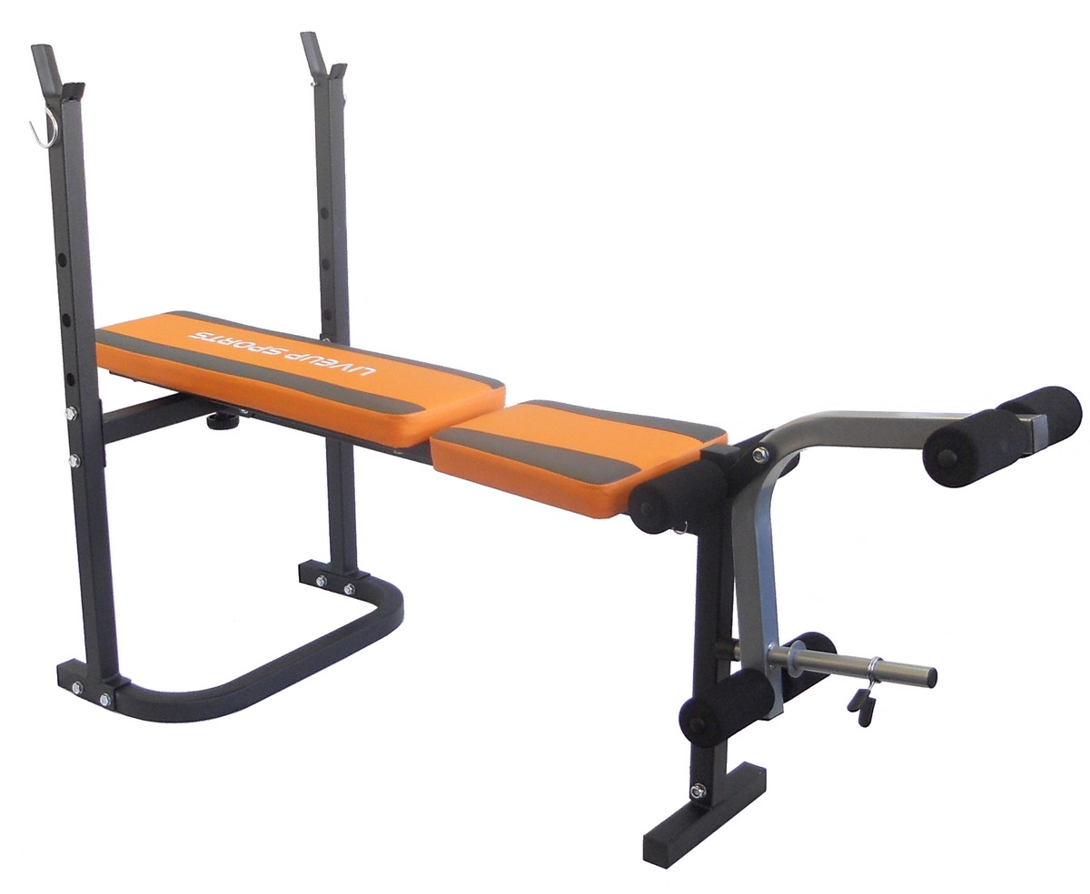 Adjustable Folding Incline Weight Bench With Leg Unit Ebay