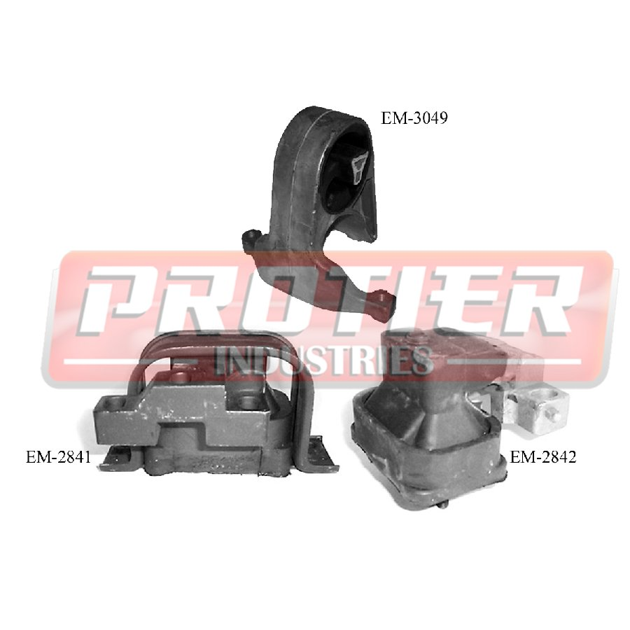 Motor Trans Mount Set For 2001 2006 Chrysler Sebring Dodge Stratus 2 4 2 7l Ebay