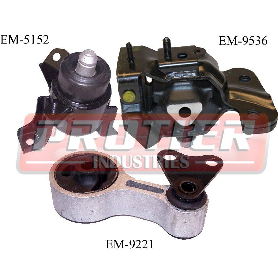 Mazda 6 3 0l Engine Automatic 2005 2008: Engine Motor & Transmission Mount Kit For 2003-2005 Mazda 6 3.0L Auto Trans