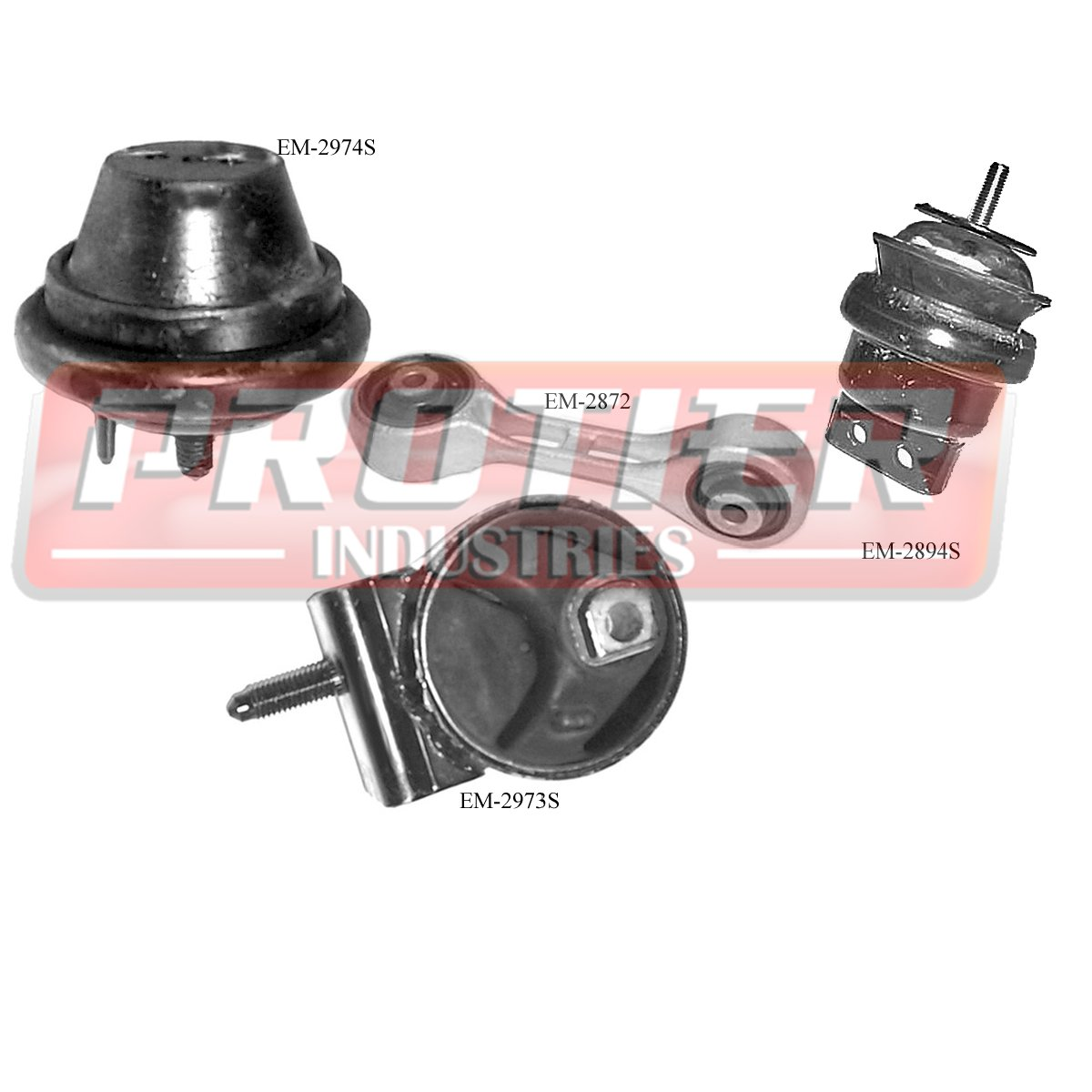 engine motor trans mount set for 2000 2003 ford taurus. Black Bedroom Furniture Sets. Home Design Ideas