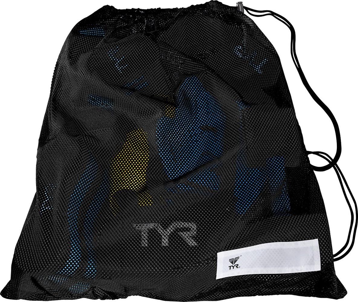 Swim Gear Bag: NEW TYR Mesh Equipment Bag BackPack Bag For Wet Swim Gear