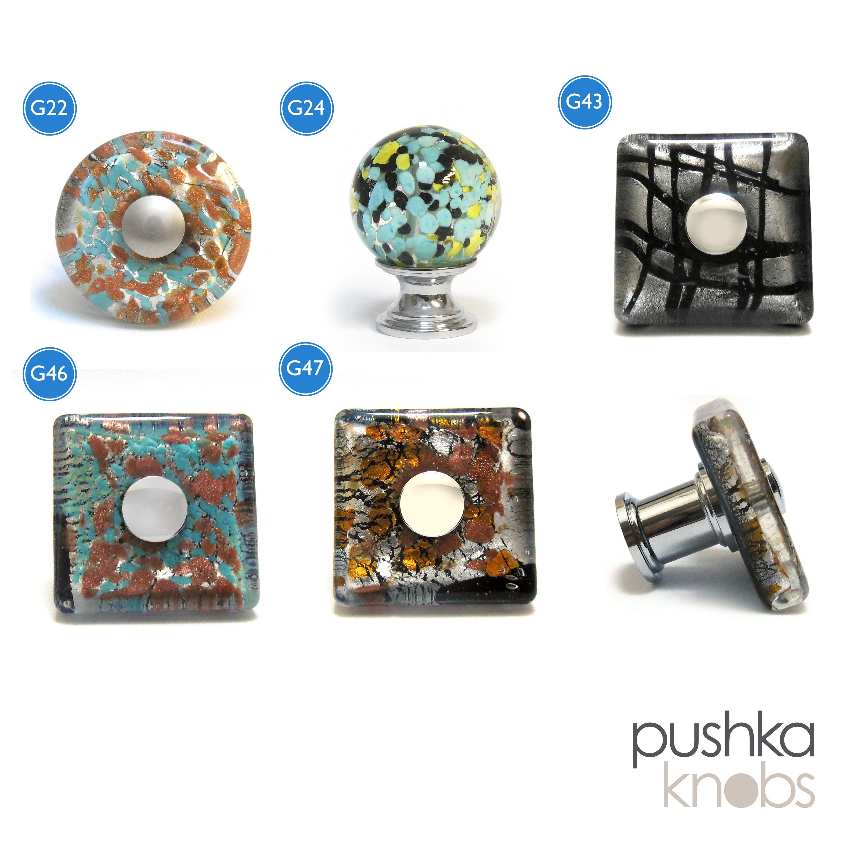 blown glass kitchen cupboard door drawer cabinet knobs pulls ebay