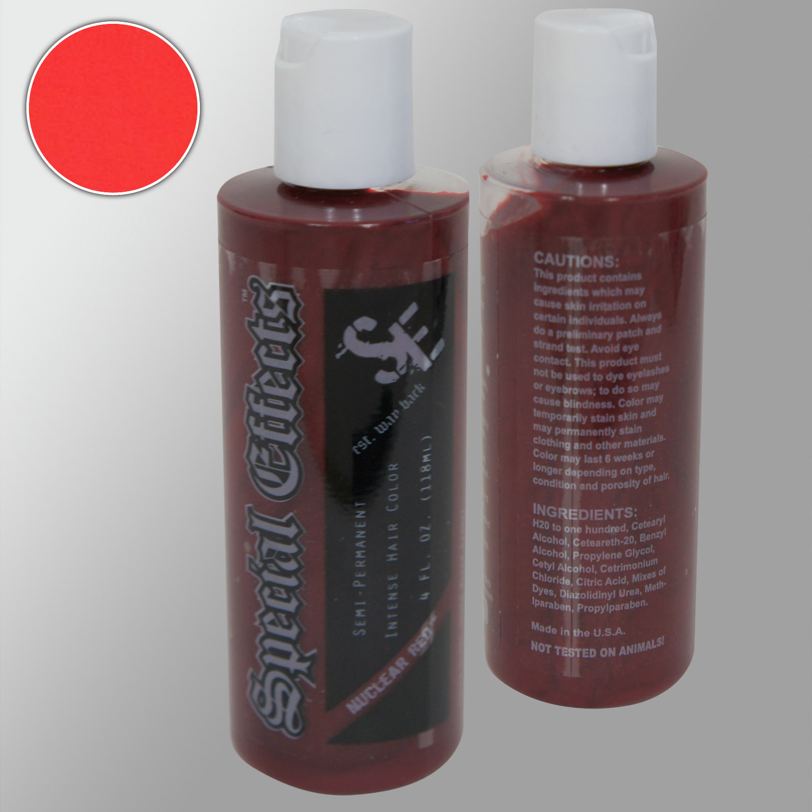 SPECIAL-EFFECTS-Semi-Permanent-VEGAN-Hair-Dye-Color-4-Oz-Punk-Rock-W-Free-Brush