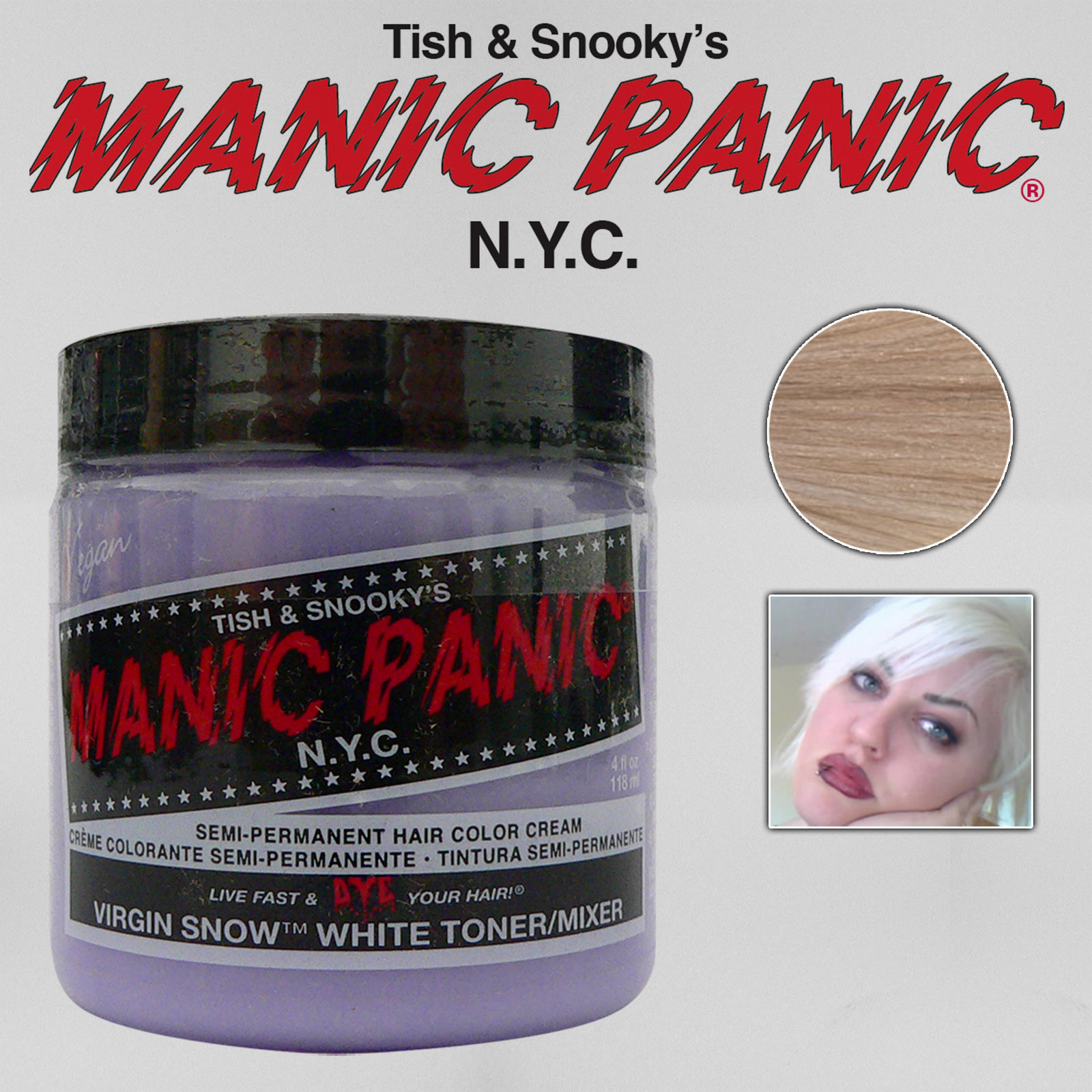 MANIC-PANIC-Classic-Semi-Permanent-VEGAN-Hair-Dye-Color-ALL-COLORS-4-Oz-NEW