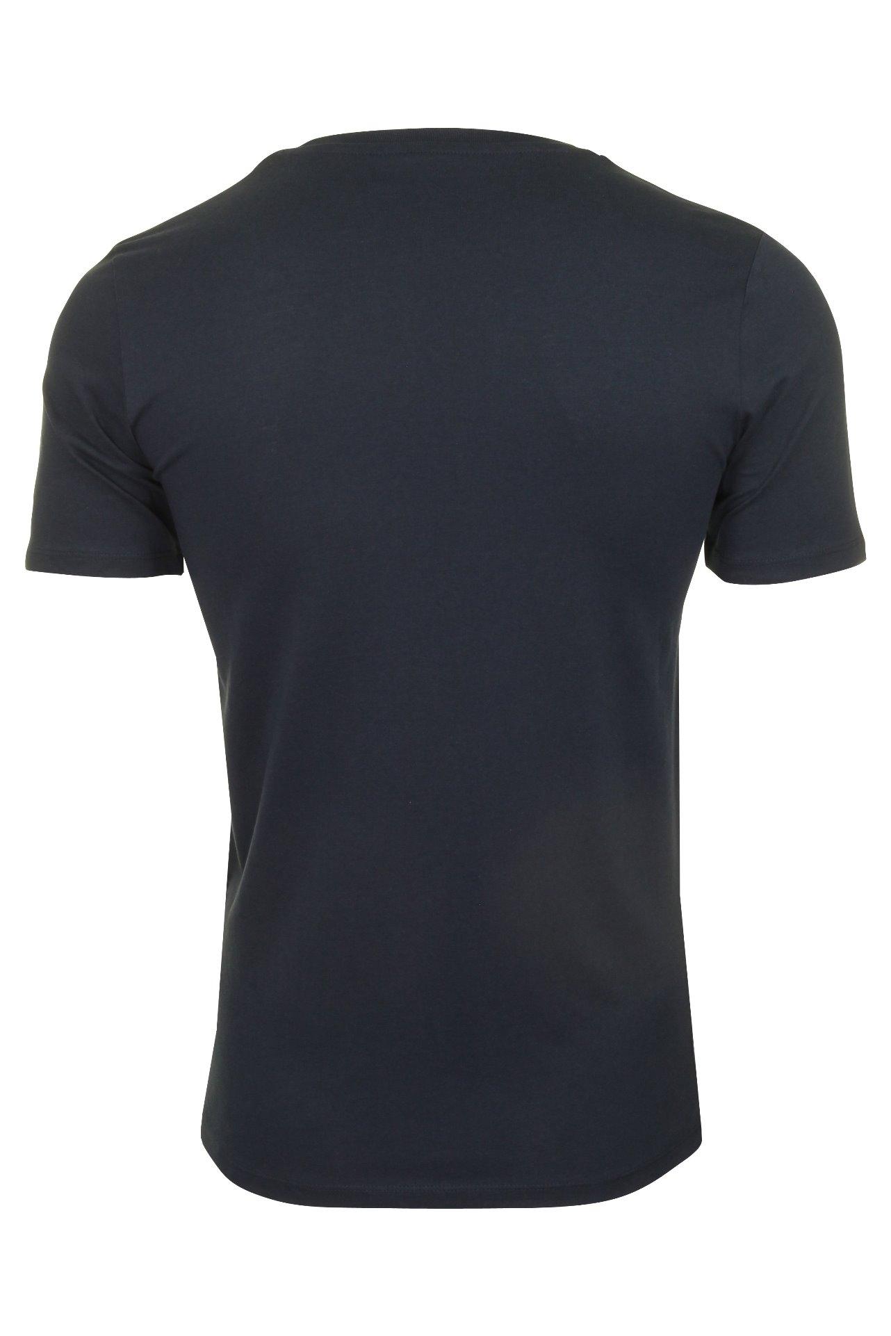Short Sleeved Jack /& Jones Mens T-Shirt /'Pocket/'