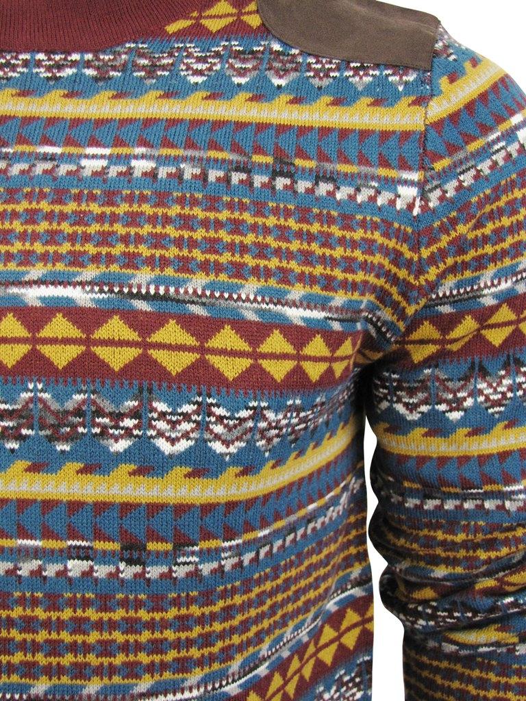 Tokyo Chor Uomo Maglione Nordica Azteca Girocollo Fantasia Laundry 6qdnxnRa