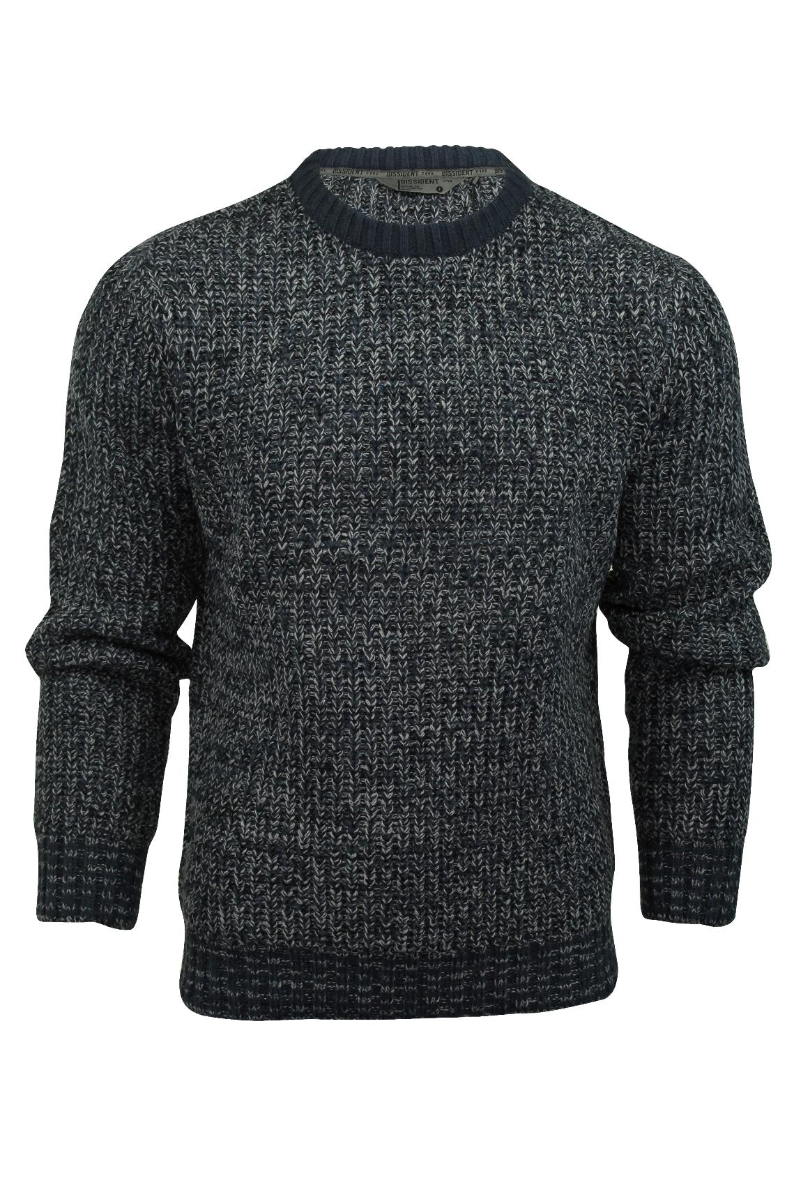 dissident jemison herren pullover mit schalkragen kontrastfarben. Black Bedroom Furniture Sets. Home Design Ideas