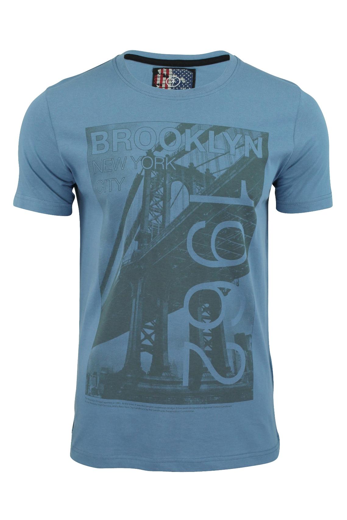 Mens t shirt by dissident 39 brooklyn 1962 39 print short for T shirt printing brooklyn
