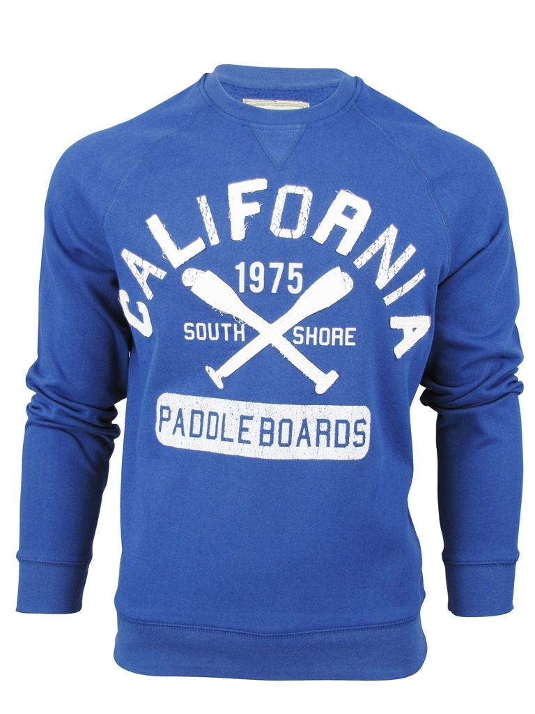 Mens-South-Shore-California-Paddle-Boards-Tray-Crew-Neck-Jumper