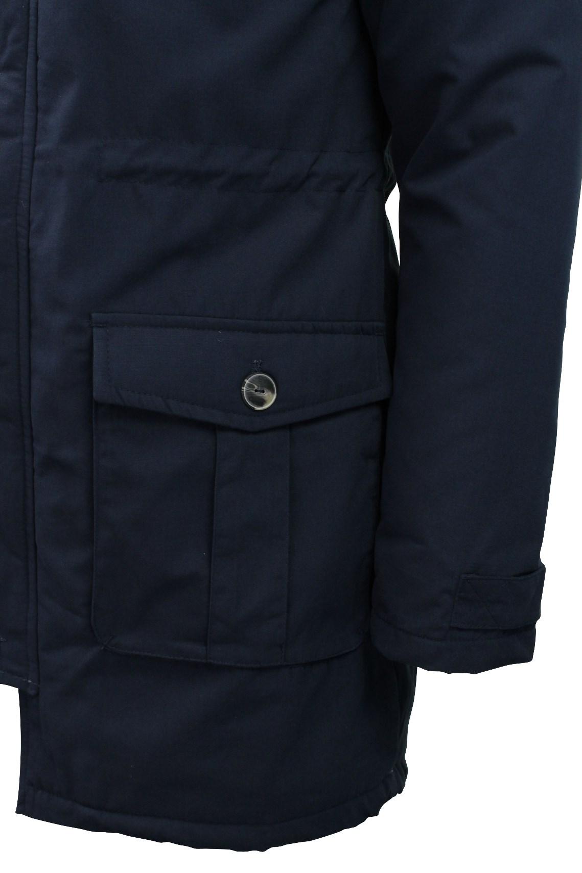 Mens Parka Jacket Tokyo Laundry 'Braxton' Fishtail Snorkel Hoodie ...