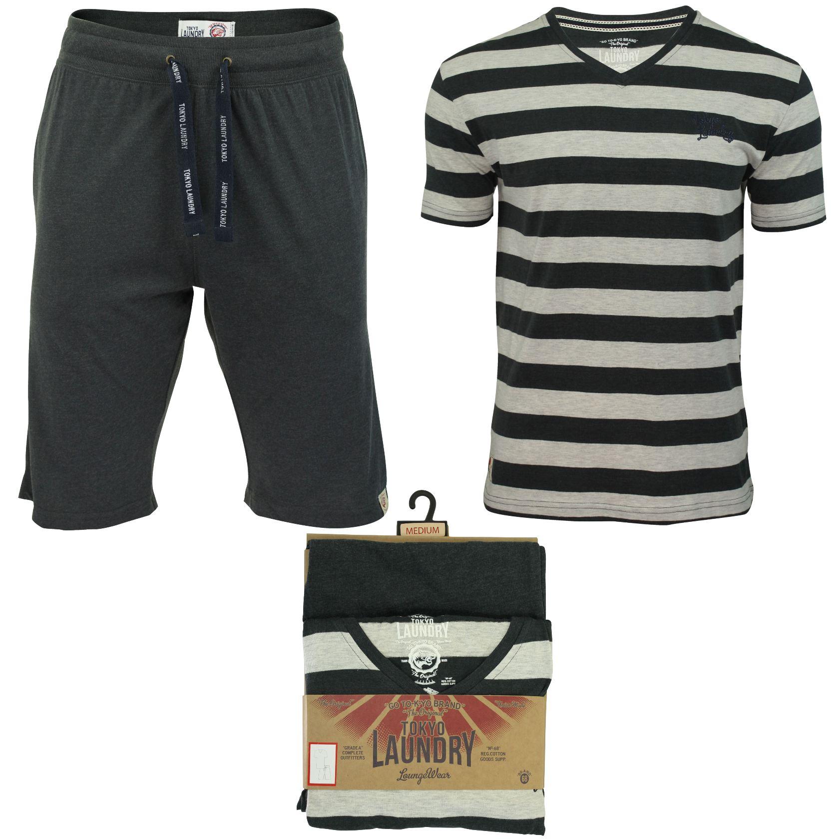 tokyo laundry pyjama pour homme bas et haut ebay. Black Bedroom Furniture Sets. Home Design Ideas