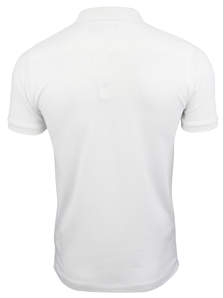 Black t shirt white collar - Mens Fcuk French Connection Mini Collar Polo T