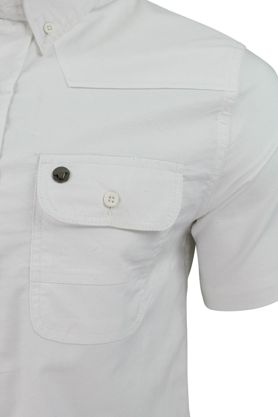 Mens Shirt by Voi Jeans /'Burke/' Short Sleeved