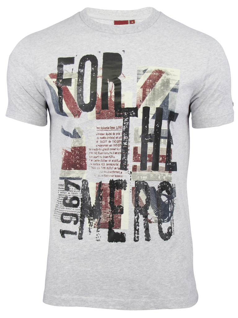 mens merc london t shirt 39 tarn 39 union jack print ebay. Black Bedroom Furniture Sets. Home Design Ideas