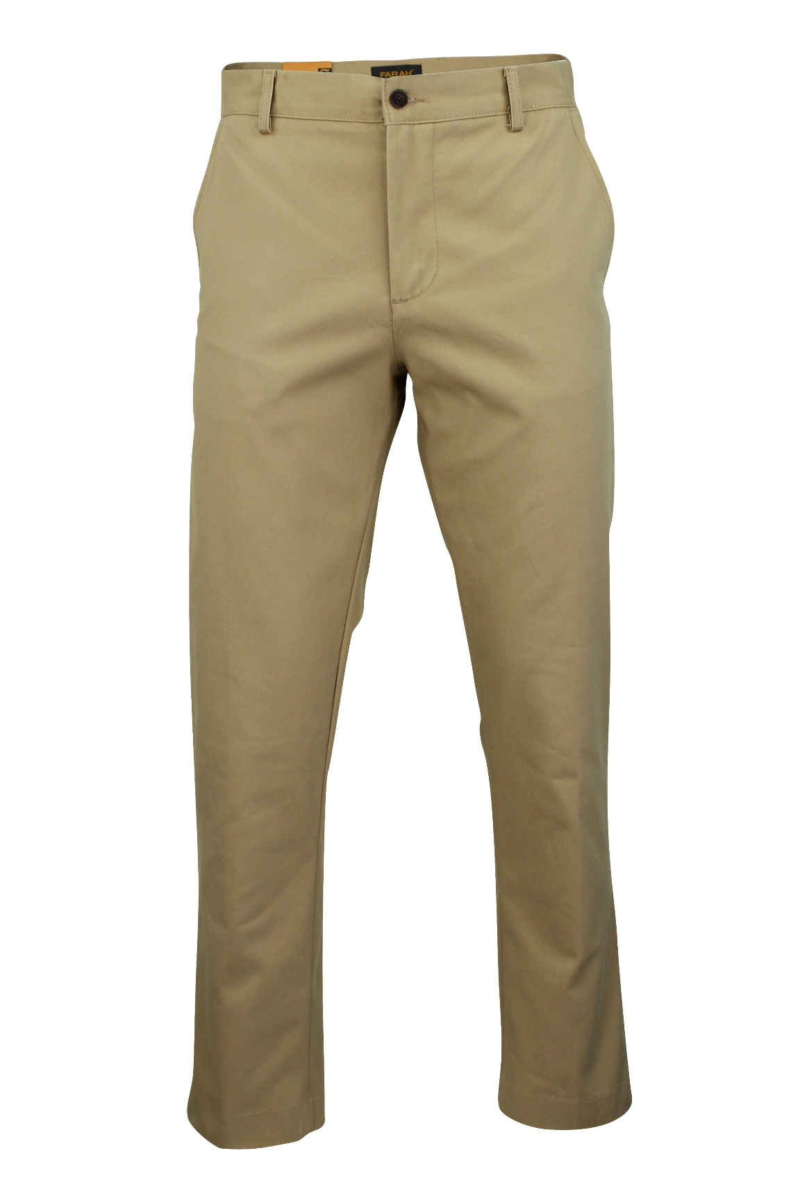 Mens Chino Trousers by Farah 'Norcross Twill' Regular Fit ...