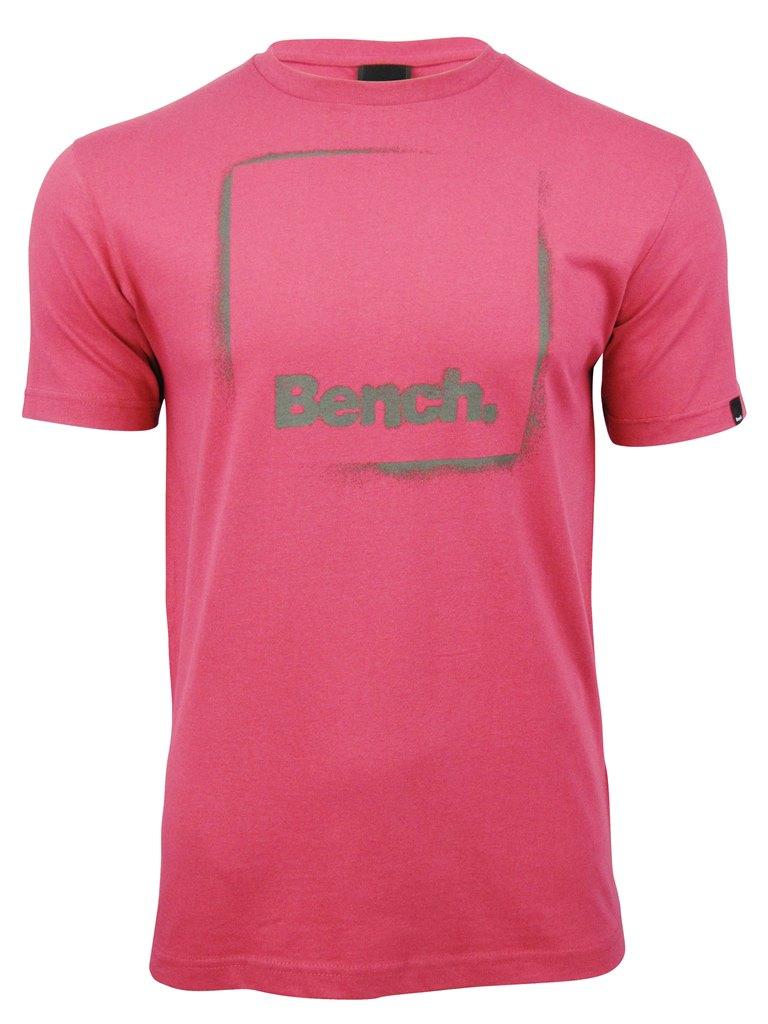 bench mens t shirt 39 full stop 39 short sleeved ebay. Black Bedroom Furniture Sets. Home Design Ideas