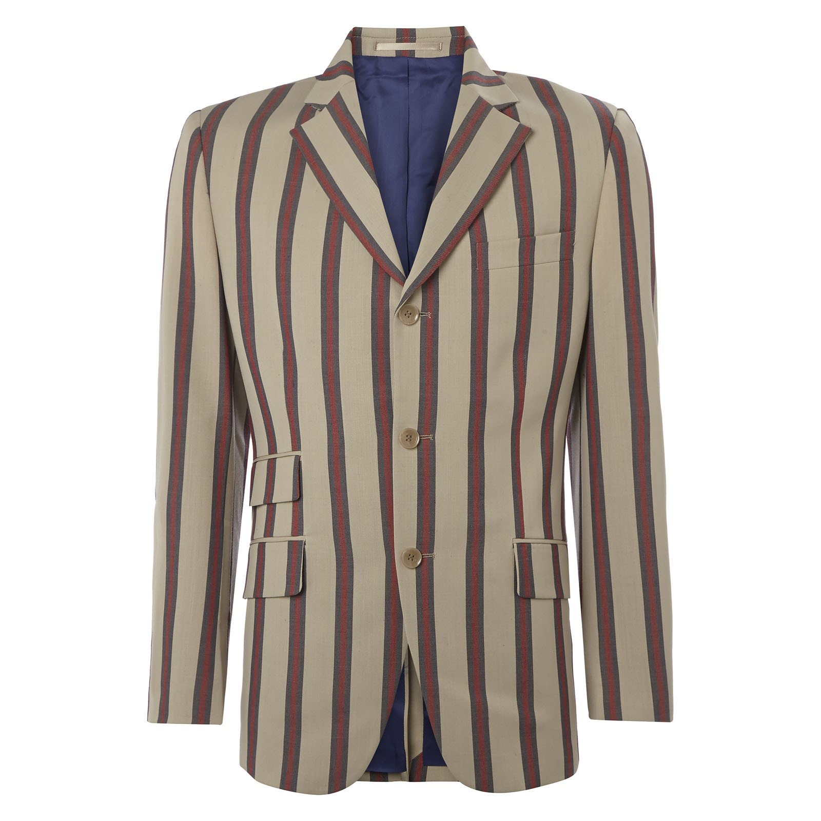 Mens Blazers The most versatile jacket you could have in your wardrobe is the iconic men's blazer. From a night out, to a day at the races, this smart casual staple will always keep you looking dapper.