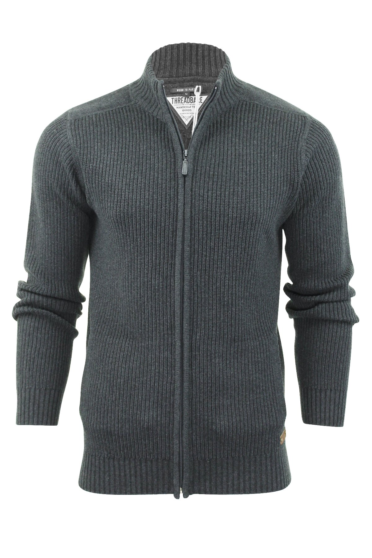 Zip Up Jumper Mens - Cashmere Sweater England