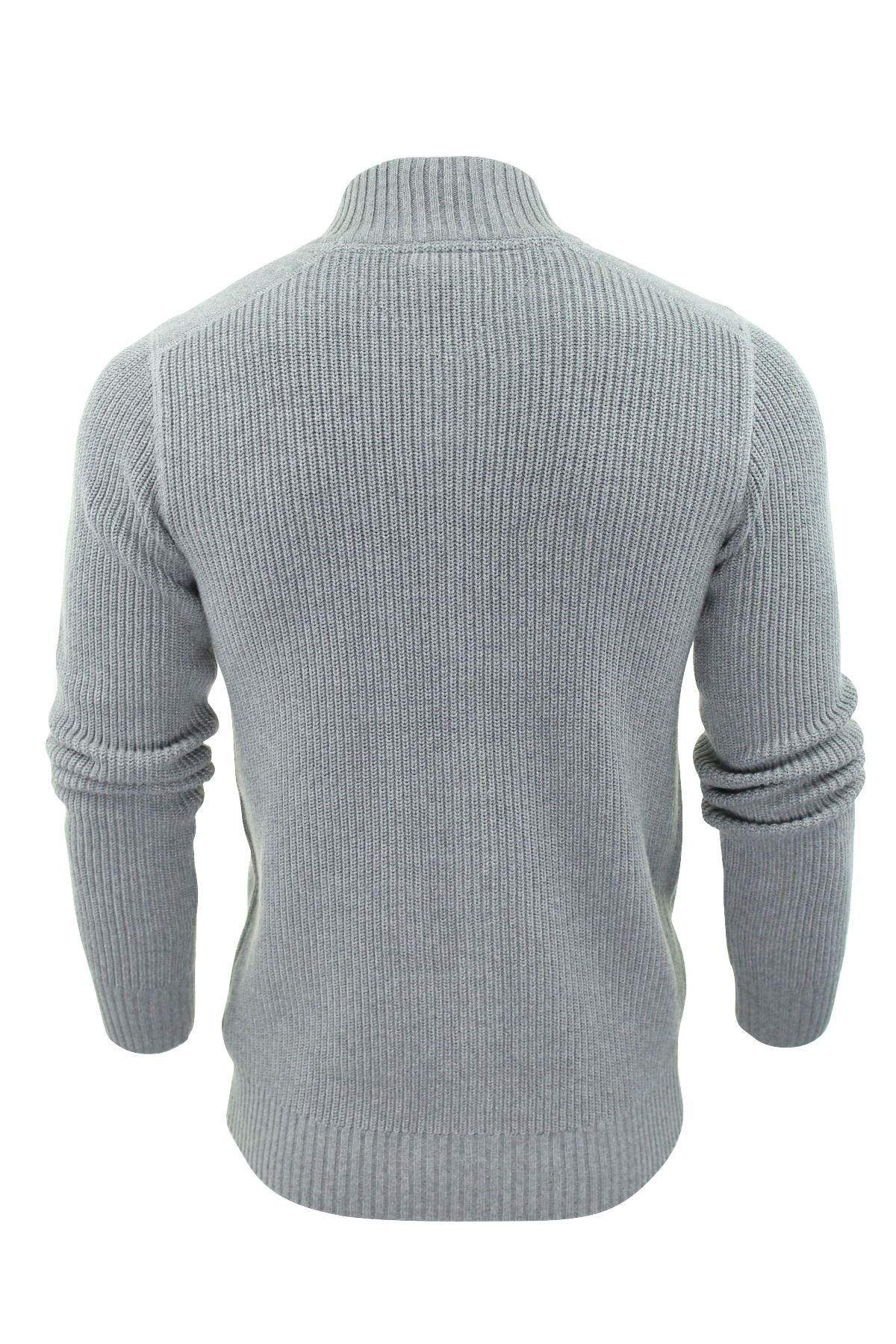 Mens jumper Zip Up Cardigan by Threadbare 'Visage' Cotton Knit ...