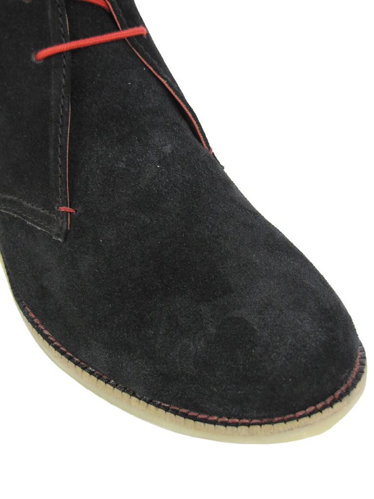 mens desert boot shoe lace up suede by catesby ebay