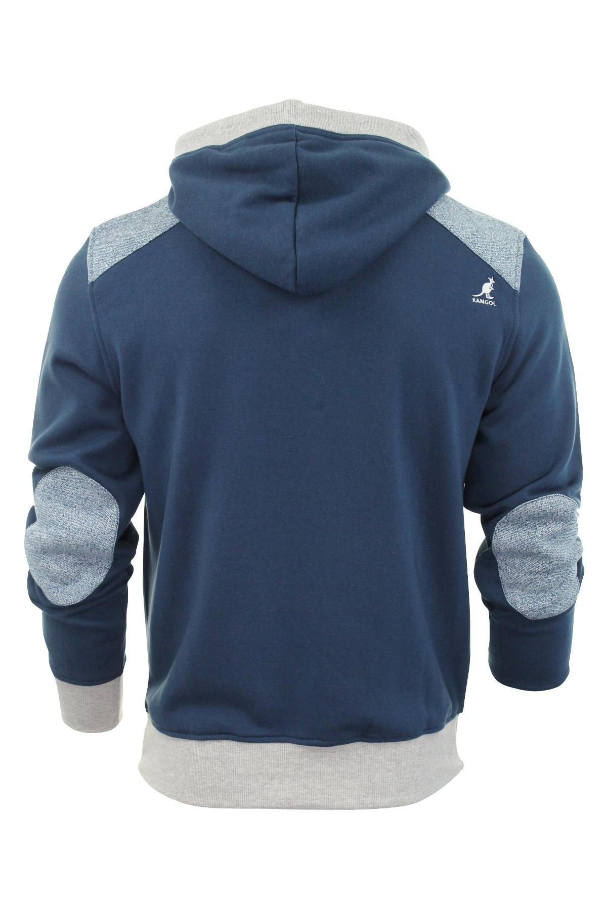 Kangol Mens Jumper Hoodie Sweater Top 'Mortar'