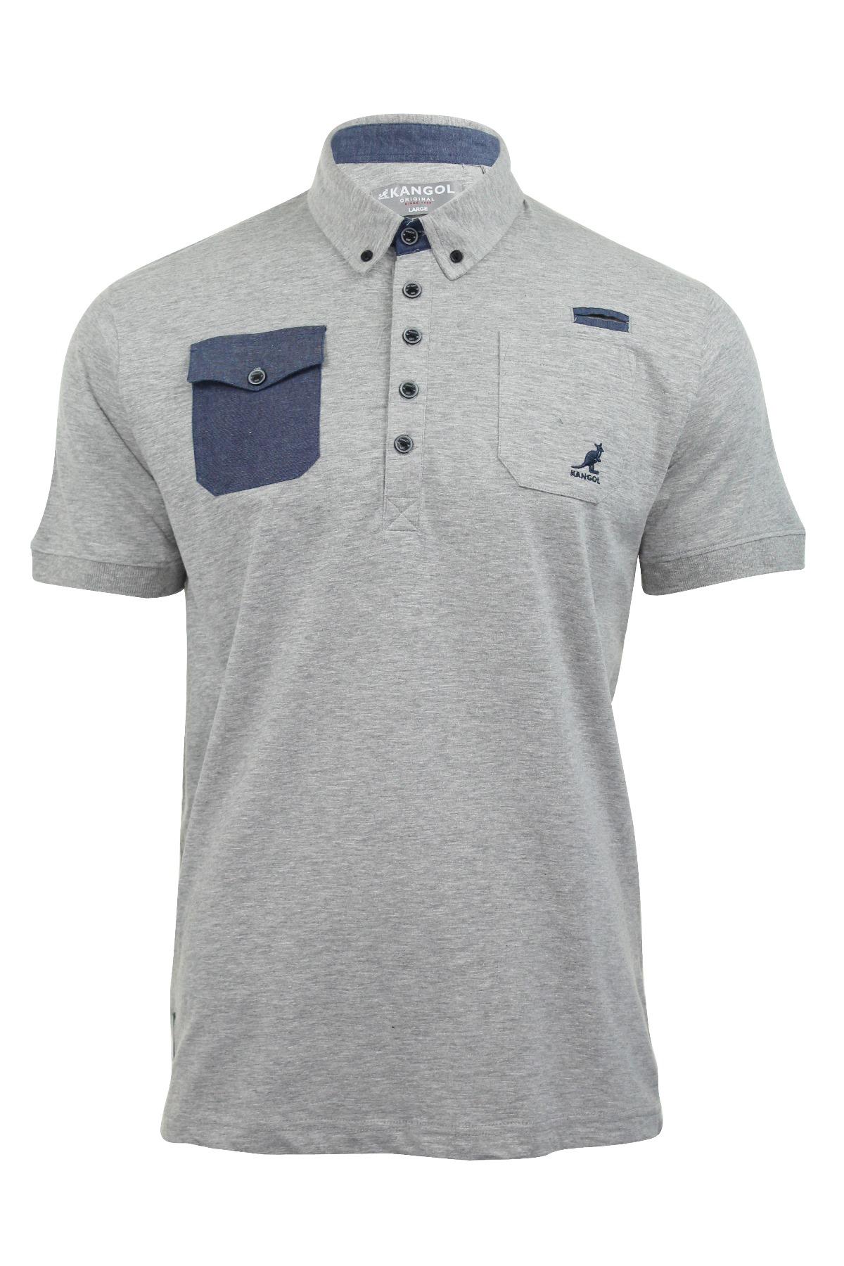 Mens Polo Shirt 'Zellor' Jersey T Shirts Button Down Collar | eBay