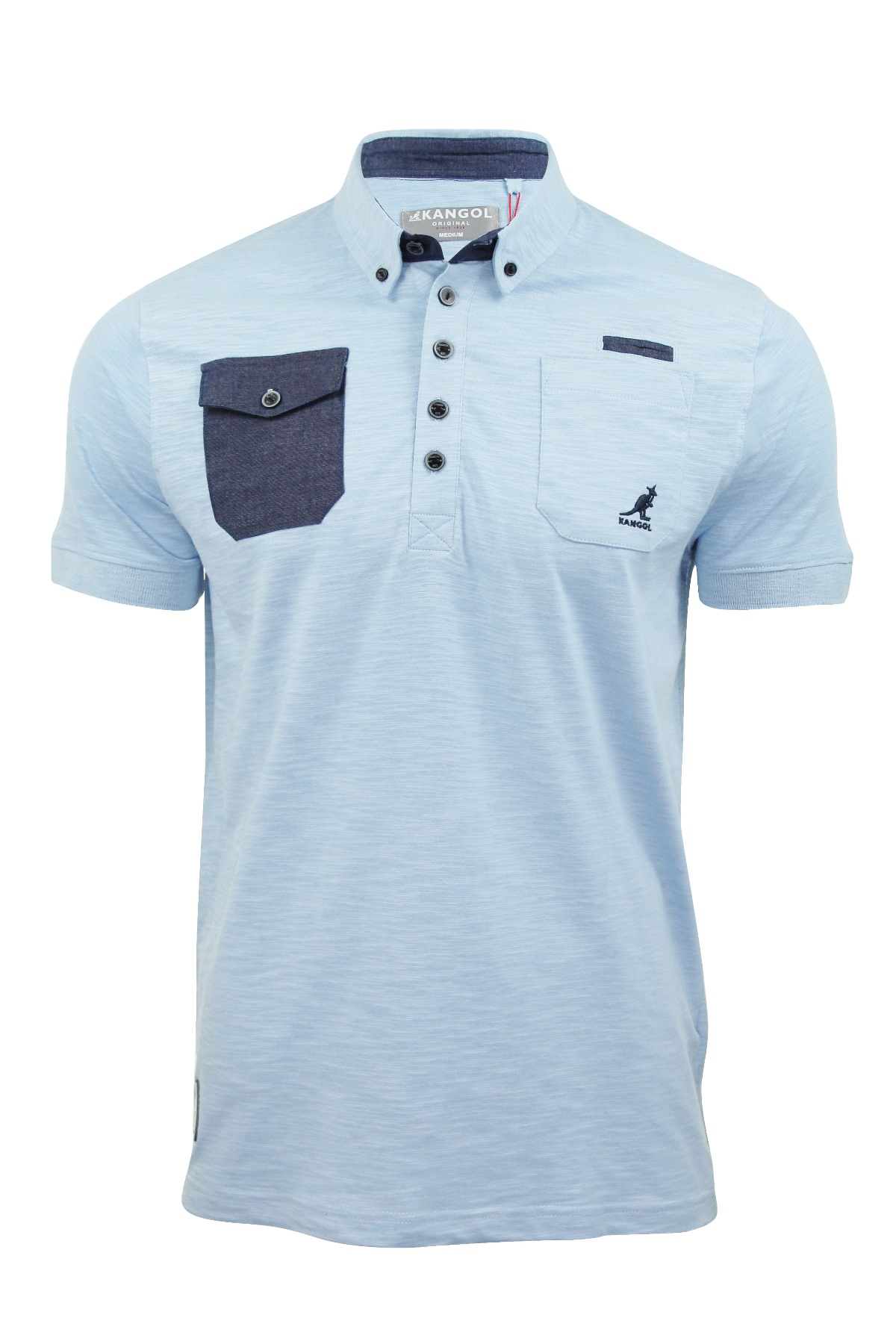 Mens Polo Shirt 'Zellor' Jersey T Shirts Button Down ...
