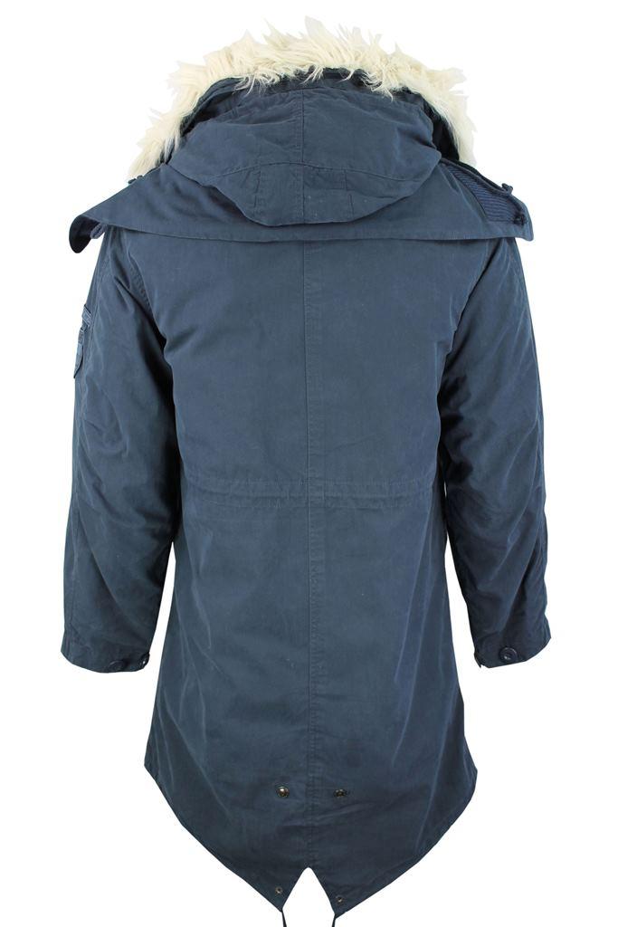 Lambretta Mod/ Retro Fish Tail Parka Jacket/ Coat Hooded ...