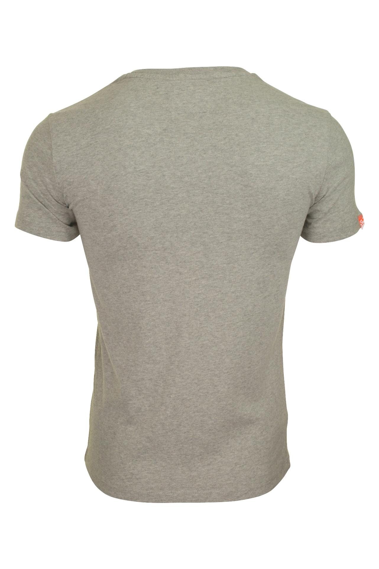 """Homme Superdry Orange Label vintage /""""V Neck T-Shirt"""