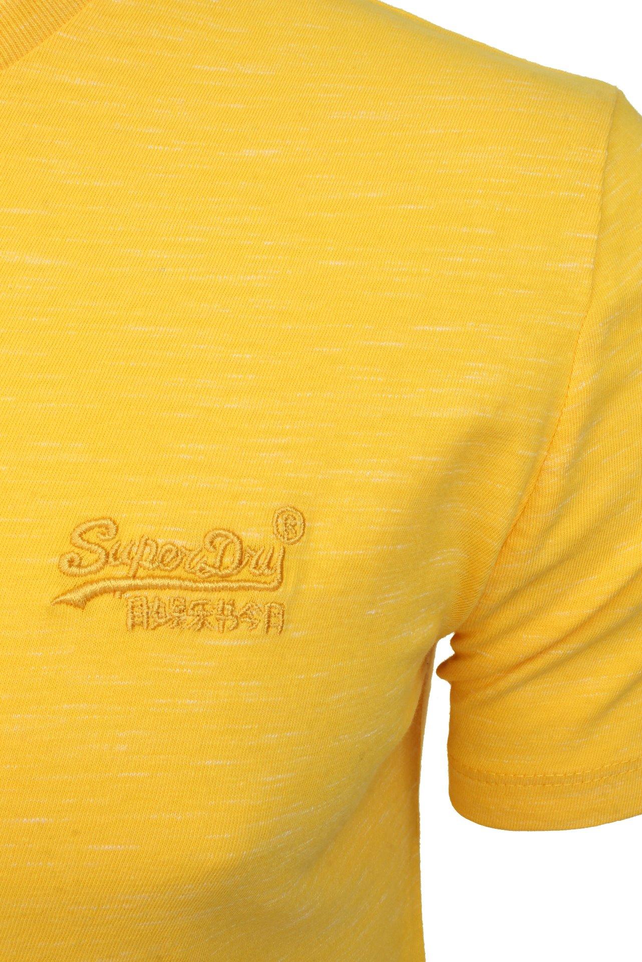 Superdry Mens T-Shirt /'Vintage Emb Crew/'